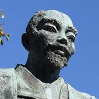 豊臣秀吉公の銅像