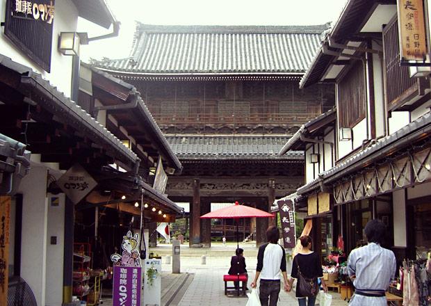 大通寺山門の修復前