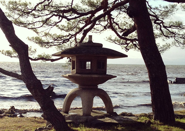 大正天皇 御大典記念の灯籠