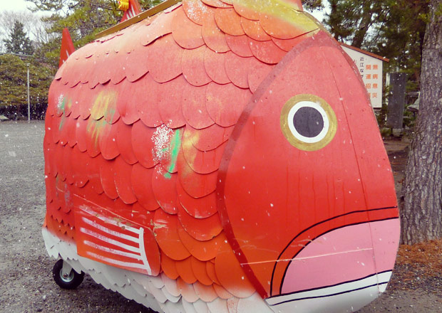 十日戎の鯛車