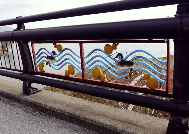 長浜新川の下坂浜大橋