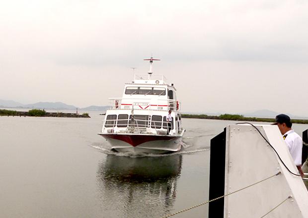 琵琶湖汽船 べんてん