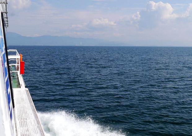 日本一大きな湖 琵琶湖は滋賀県