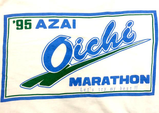あざいお市マラソンTシャツ