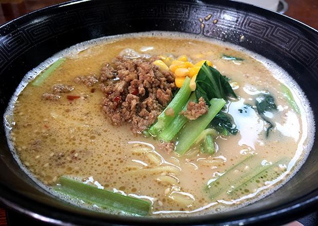 中国菜館登龍門の担々麺