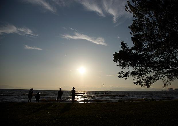 青春の琵琶湖