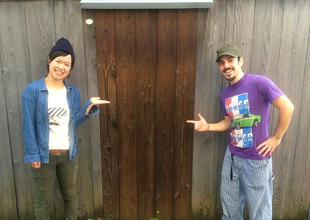 ドアが壁になったトマソン