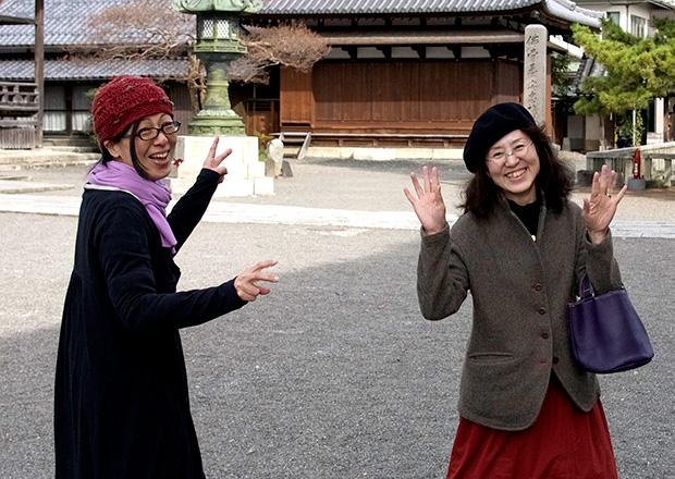 さざなみ古書店の中村さんと小野さん