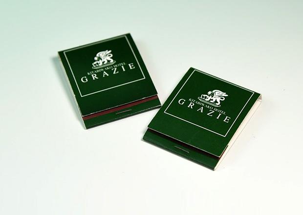 KITABIWAKO HOTEL GRAZIEのマッチ