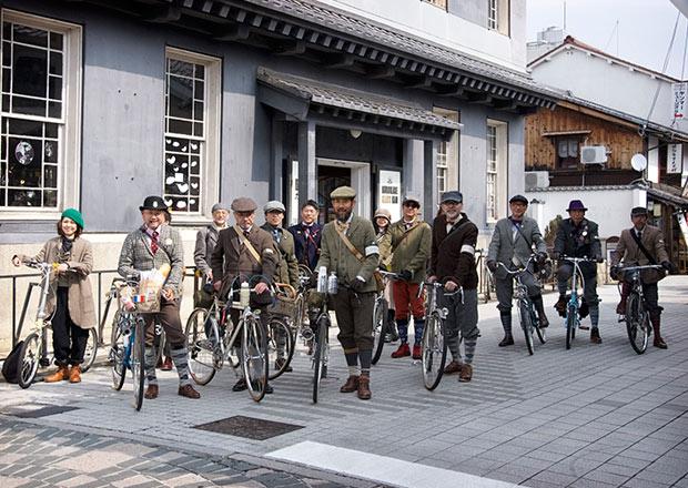 長浜を自転車でサイクリング