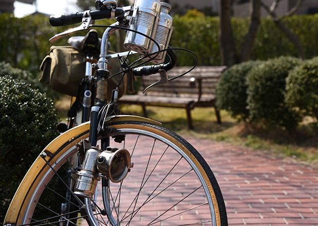 井口さんご愛用の自転車