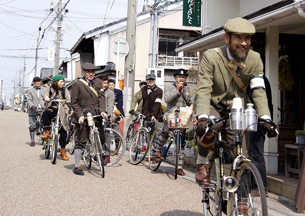 北国街道をサイクリング