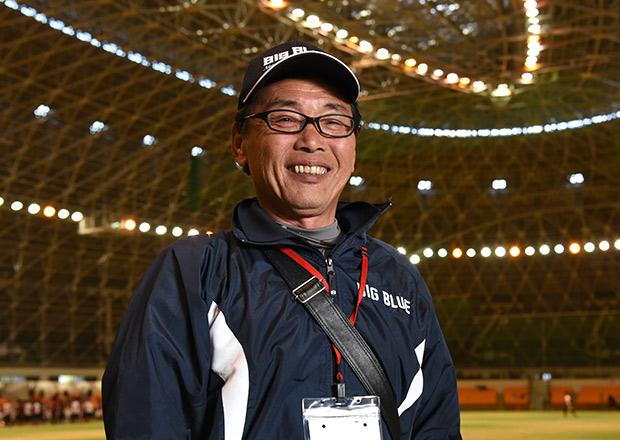 滋賀県アメリカンフットボール連盟の役員 茂森清嗣さん