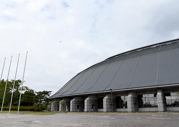 長浜ドームでUFO写真を撮る