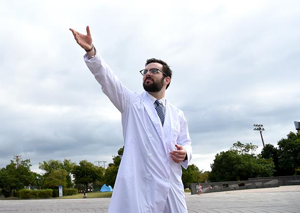 白衣を着たドクター