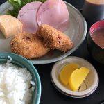 さんきち食堂のコロッケ定食