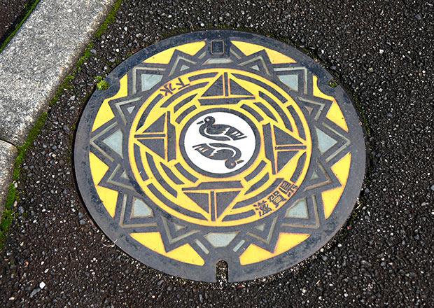 滋賀県のご当地マンホール