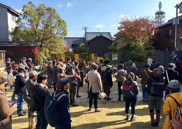 ツイードピクニック長浜開会式