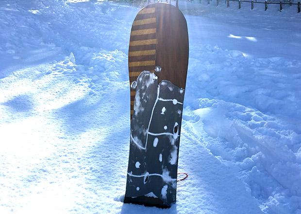 手作りの世界に1つだけの雪板(ボード)