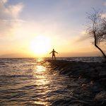 【夕日スポット】長浜の絶景ランニングコースを紹介! @長浜城・豊公園