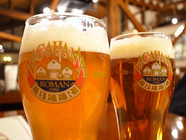 長浜浪漫ビールでクラフトビールを味わう