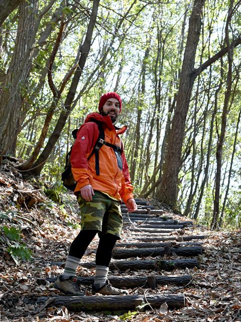 横山へのハイキングに出かけるとリラックスできる