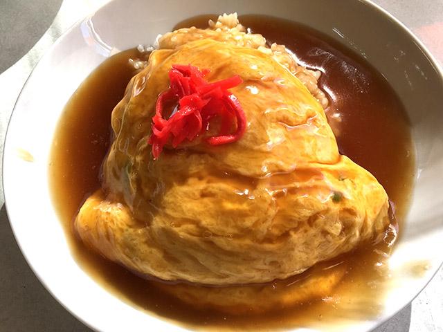 中国菜館 登龍門の天津飯が美味しい