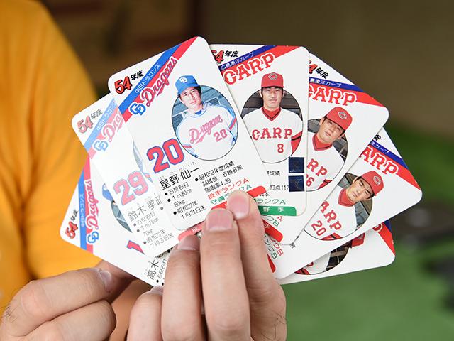 昭和54年 タカラ プロ野球カードを発見!星野仙一選手を見つけた