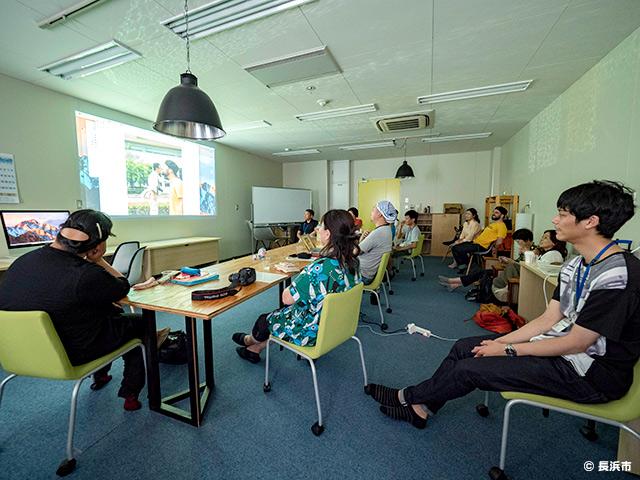 長浜市民カメライター養成講座の様子