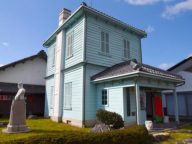 堀井新次郎家住宅 洋館(1909年に建設)