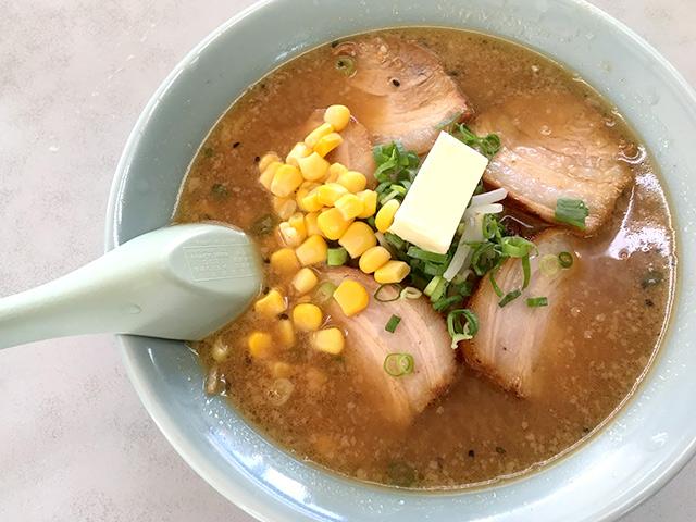 ラーメン大学の味噌バターチャーシュー麺