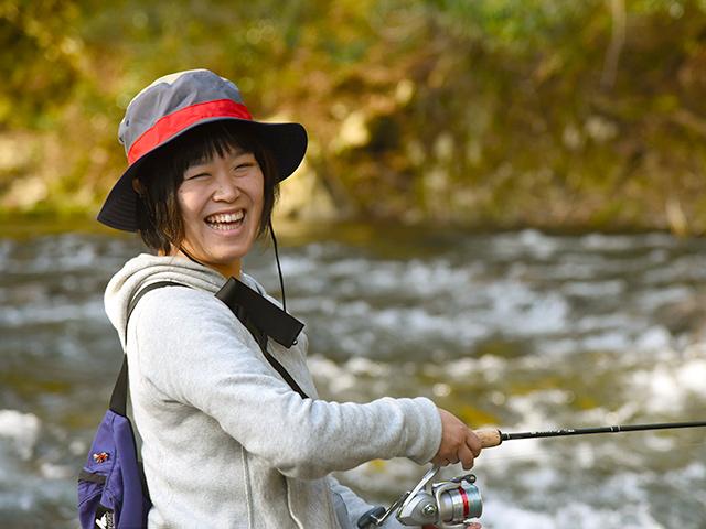 【杉野川の渓流釣りが解禁】春だよ、釣りだよ、浅井だよ!アマゴか岩魚が1匹釣れるまで挑戦します
