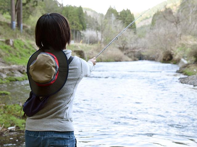 ルアー釣りで釣れるかな