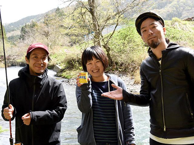 東京からはるばる長浜の山奥までへ来てくれた2人