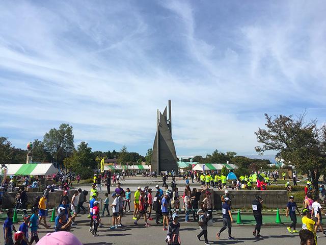 浅井文化スポーツ公園のモニュメント