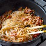 【時短レシピ】鯖缶とそうめんを使ってトマトパスタ風に簡単アレンジ!