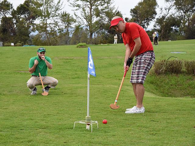 グラウンドゴルフの醍醐味