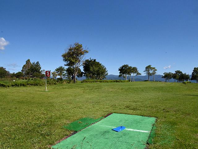 奥びわスポーツの森のグラウンドゴルフ場