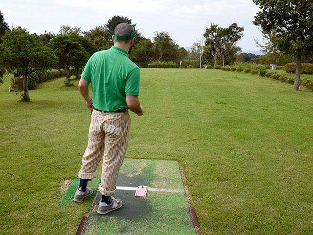 グラウンド・ゴルフを楽しむ休日