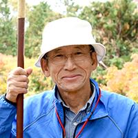 小谷城保勝会の中川 隆司さん
