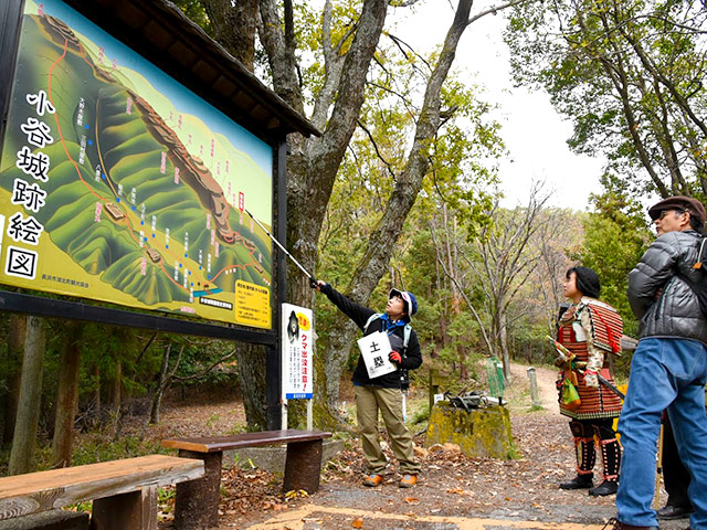 小谷城の歴史ガイド
