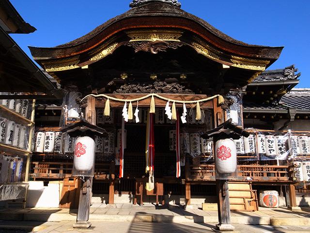 豊国神社で商売繁盛を祈願