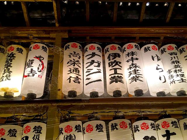 長浜の豊国神社で行われる十日戎で献灯をしました。