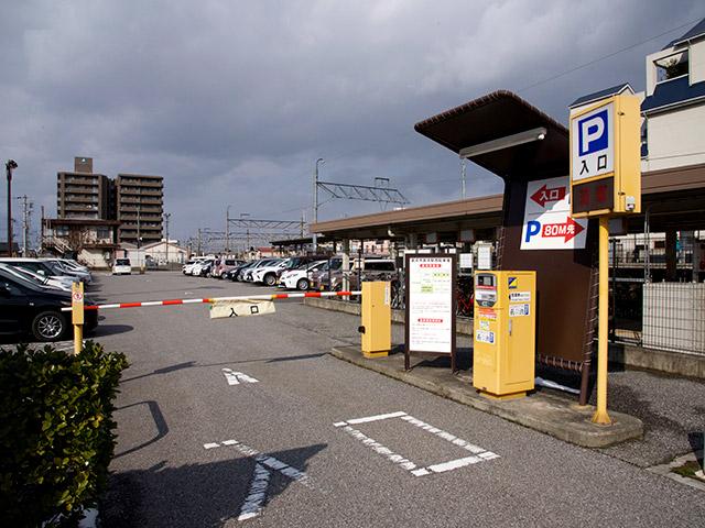 長浜西駐車場