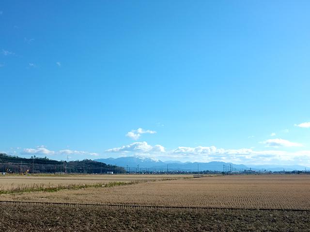 河毛駅近辺は、滋賀県湖北地域の原風景が残っている町