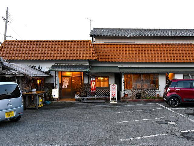 昔から長浜市祇園町にある焼肉ぎおんの外観