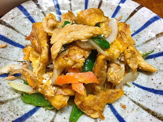 沖縄料理めんそーれのフーチャンプル