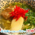【長浜駅から徒歩1分の沖縄】めんそーれで本場の沖縄料理を味わおう!