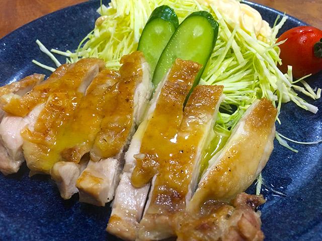 鶏モモステーキ