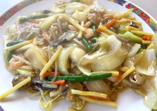 和洋レストランパーティーハウスの人気No.1中華チャンメンは見逃せない!